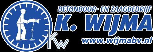 Logo Betonboor- en Zaagbedrijf K. Wijma BV Drachten